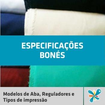 Bonés - Especificaçoes  1186c5ce697